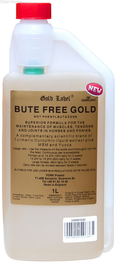Bute Fee Gold Label Vital Horse