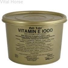 Vitamin E 1000 Gold Label Vital Horse